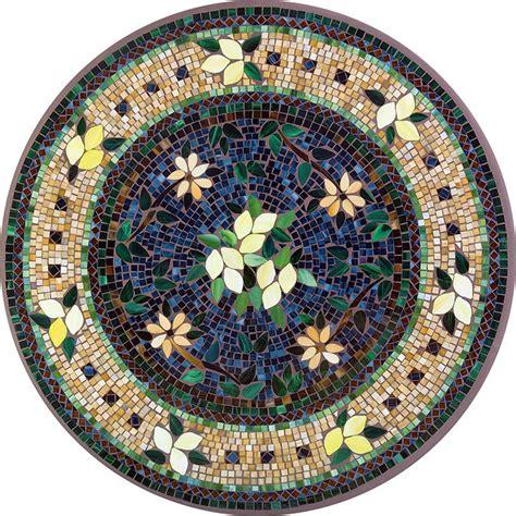 round mosaic pattern ideas outdoor furniture tucson knf neille olson