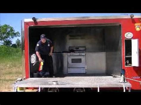 Kitchen Demonstration Trailer Paul Dept Kitchen Safety Trailer