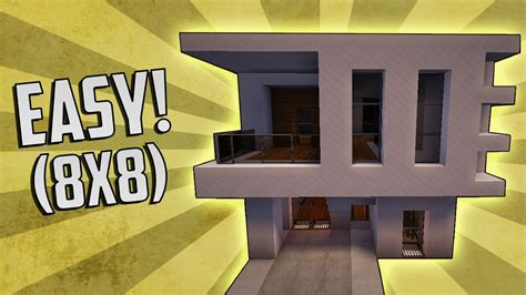 how to build a small modern house minecraft how to build a small modern house tutorial