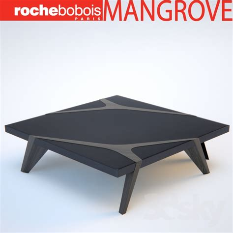 Table A Manger Bois Metal 926 by D Models Table Roche Bobois Mangrove Cocktail Table Table
