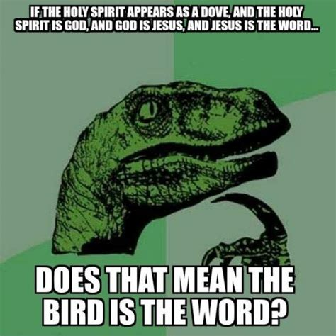 Bird Is The Word the bird is the word a christian response christian