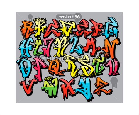 Graffiti Templates by Graffiti Alphabet Letter Template 20 Free Psd Eps