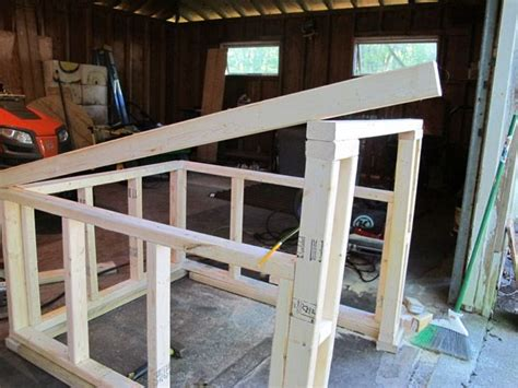 how to roof a dog house how to construct a modern slanted roof for your diy dog house dogs pinterest