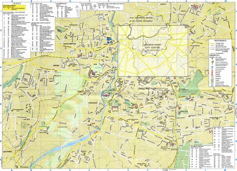 a map nicosia map map of nicosia area large detailed cyprus maps