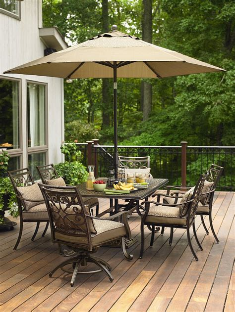 Sears Patio Dining Sets Clearance 7 Pc Patio Dining Set Patio Design Ideas