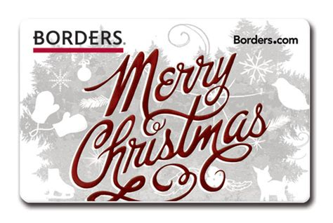 Borders Gift Cards - borders gift cards on behance