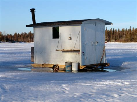 ice fish house designs buy or build a ice fishing house fish house plans and building supplies