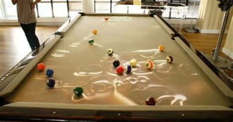 Fish Tank Pool Table by Pool Table Fish Tank This Might Just Be The Coolest