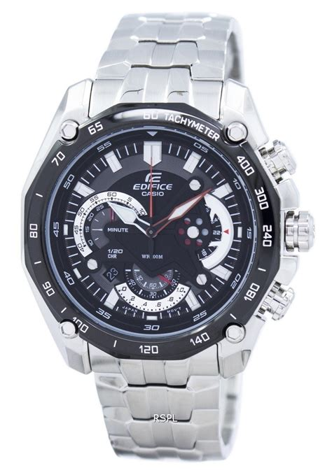 Casio Edifice Ef 550 1avdf Silver Black casio edifice chronograph ef 550d 1avdf ef 550d 1 mens singapore