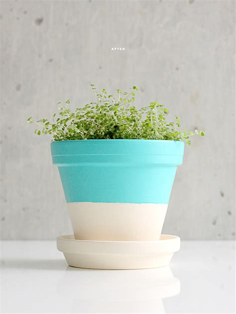 lines across beautiful diy flower pot ideas