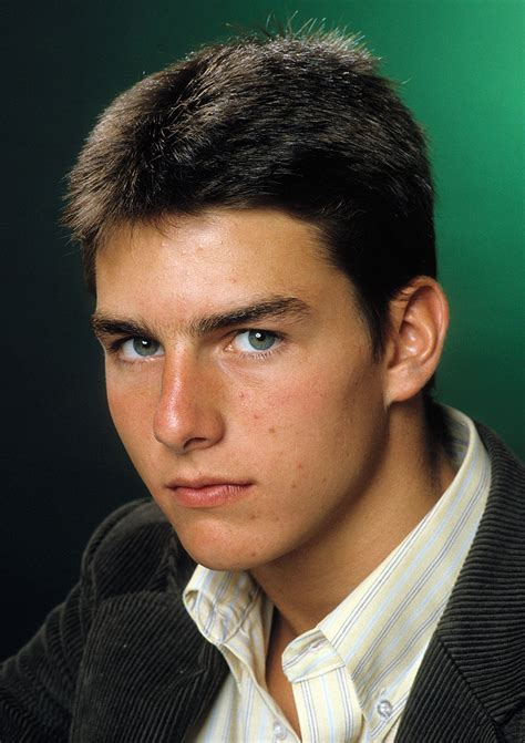 Tom Cruise by Flashback Tom Cruise Reveals How He Landed His