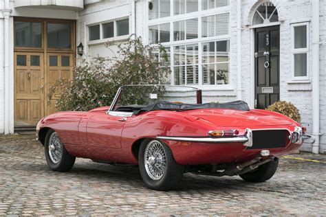 jaguar 4 2 litre e type open two seater 1965 hexagon
