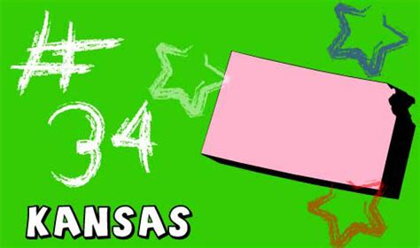 Kansas The 34th State by Welcome To Usa 4 Kansas State Information