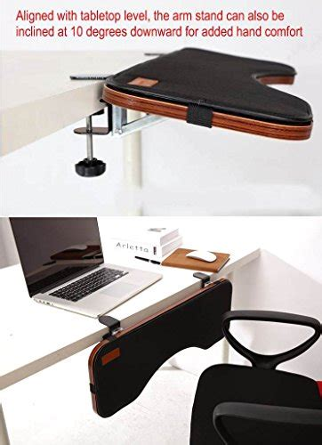 desk with wrist rest ergoneer ergonomic keyboard wrist rest desk extender for