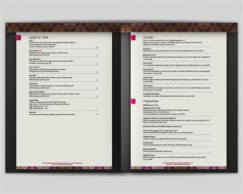 menu design nz 98 elegant personable restaurant menu designs for a