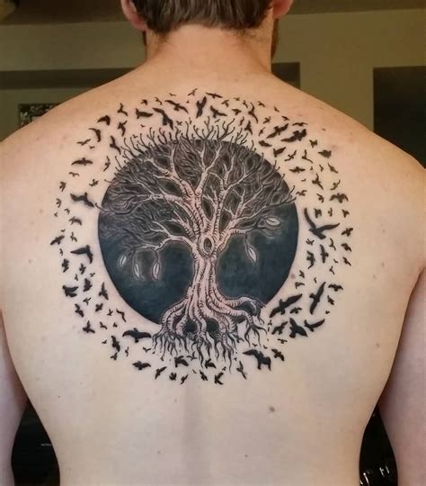 tree of life back tattoo 60 tree of tattoos with meanings