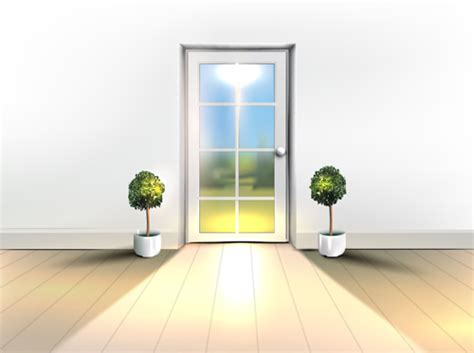 house interior corner background vectors set  vector