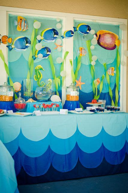 under the sea candy table events a to z u is for under the sea parties sweet