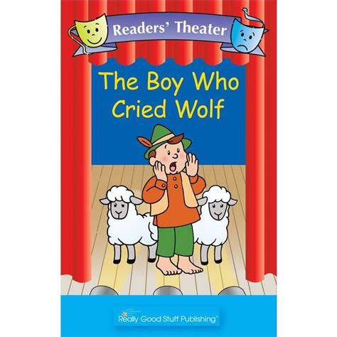 the boy who cried wolf picture book really readers theater the boy who cried wolf big book