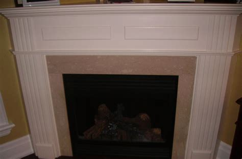 L Mantle mantel gas log fireplace fireplaces