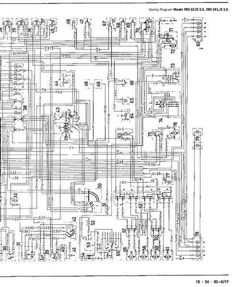 1972 mercedes wiring diagrams