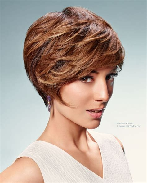 haircuts for small faces short hairstyle with layers for women with a small face