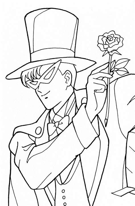 Tsuki Matsuri The Sailormoon Coloring Book Archive Coloring Pages Kamen