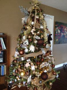 christmas tree decorations gold brown 1000 images about trees on trees colorful tree and