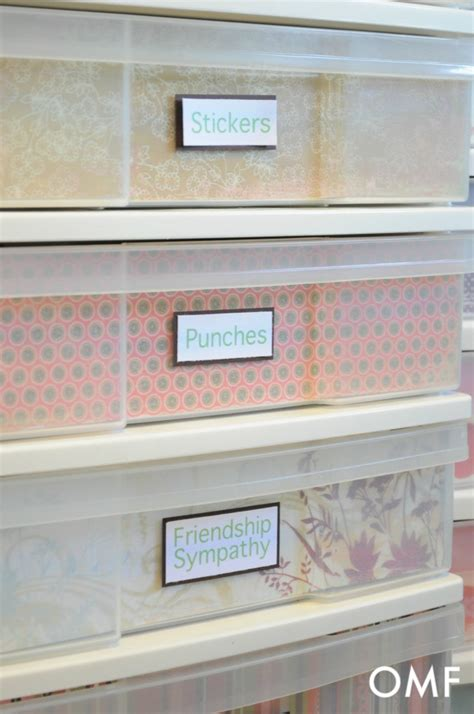 Scrapbook Paper Drawers by 52 Best Images About Craft Room Ideas On