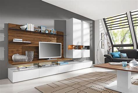 Systemmöbel Wohnzimmer by Wohnwand Gwinner Wohndesign Wohnzimmer