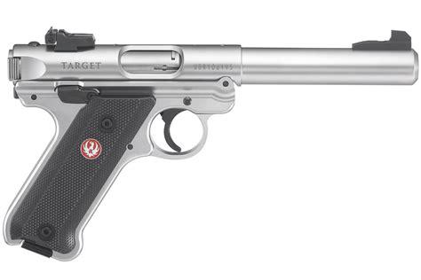 rug r ruger iv target 22lr rimfire pistol with bull barrel sportsman s outdoor superstore