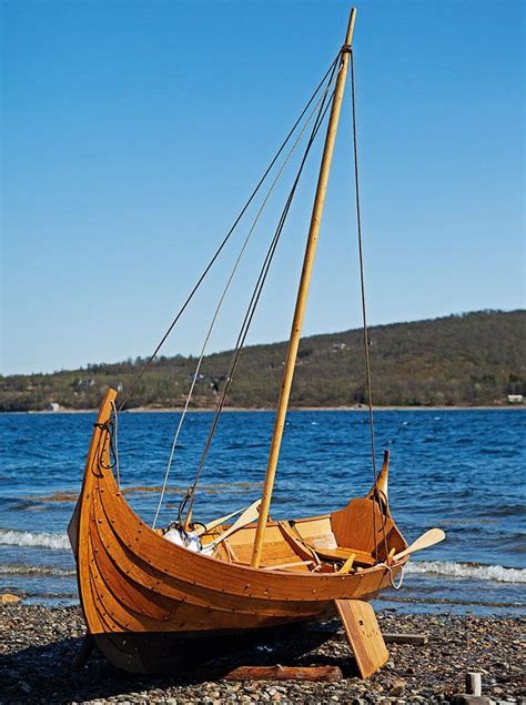 viking small boats small viking boat based sail and oar craft inspired by