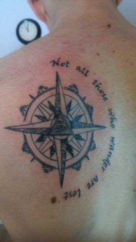 compass tattoo not all who wander are lost lost tattoo london and lost on pinterest