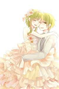 tags anime wedding wedding dress vocaloid birthday