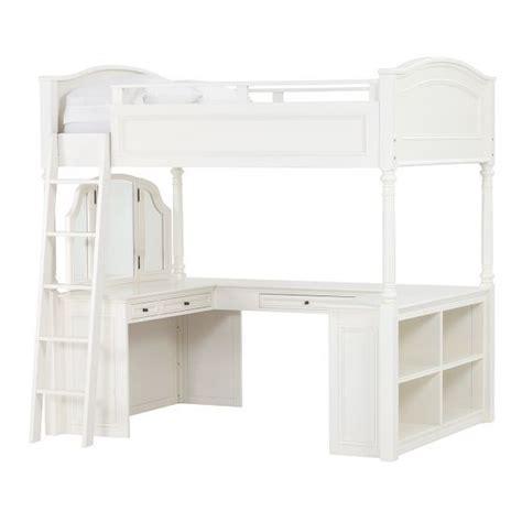 pb teen loft bed chelsea vanity loft bed