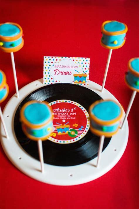 musical themed decorations baby jam musical themed 1st birthday via karas