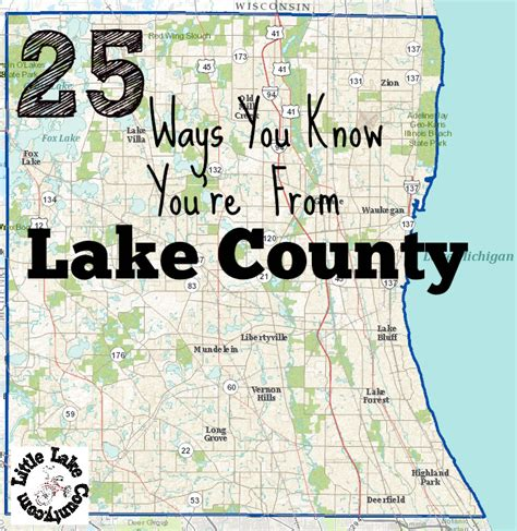 Detox In Lake County Il by 25 Ways You You Re From Lake County Il
