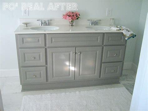 painting laminate bathroom vanity painted laminated vanity bathroom pinterest
