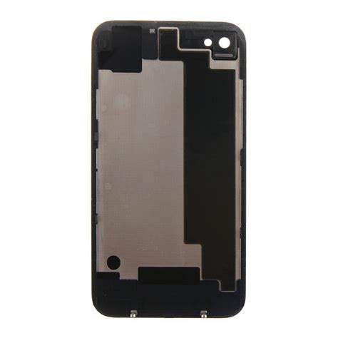 new battery cover back door rear glass repair for apple iphone 4gs 4s black ebay