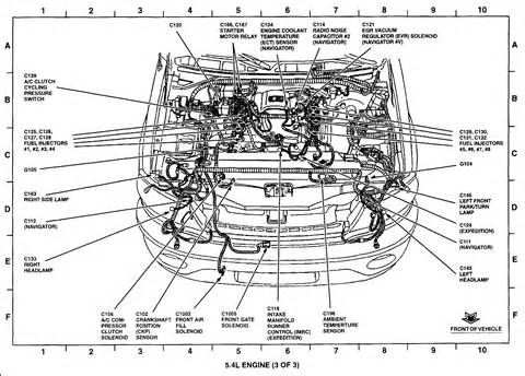 spark plugs ford 5 4 triton engine diagram get free