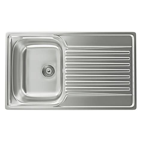 homebase kitchen sinks carron phoenix contessa 100 kitchen sink 1 bowl