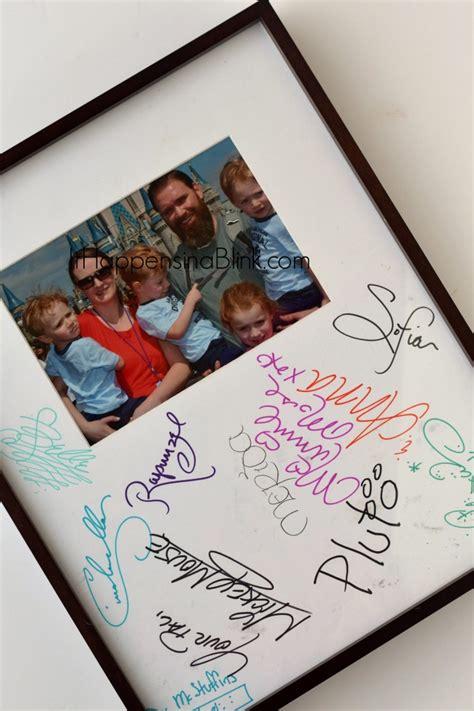 Disney Photo Mat - can use disney character autograph mat
