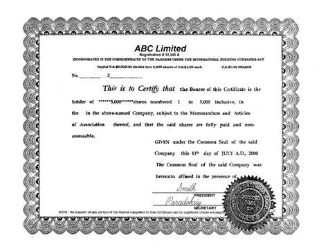 certificate template ireland company certificates for business invitation