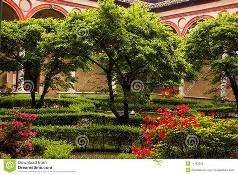 Z Garden Santa by Garden Inside Of Church Santa Delle Grazie Royalty