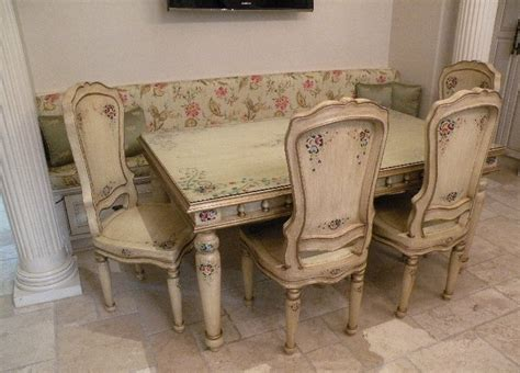 hand painted dining room furniture surprising hand painted dining room furniture 39 in dining