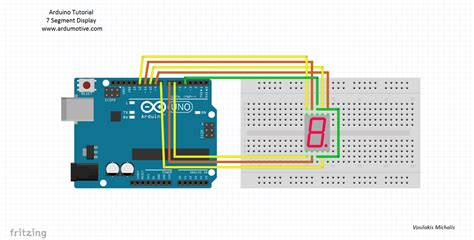 arduino tutorial 7 segment display arduino 7 segment display tutorial en ardumotive
