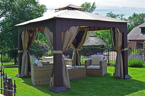 outdoor patio gazebos outdoor patio gazebo castlecreek 10 x 12 classic garden
