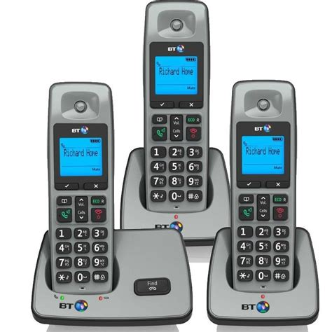 bt 2000 trio digital cordless home phone