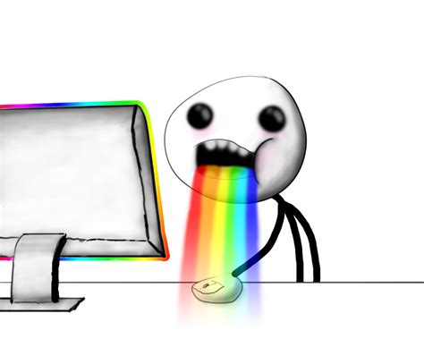 Puking Rainbows Meme - rainbow vomit meme www imgkid com the image kid has it