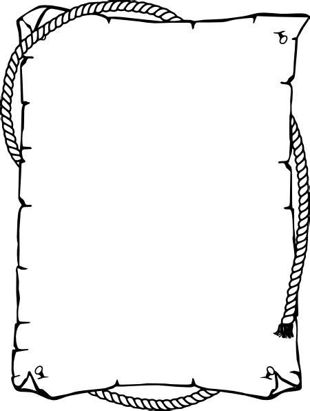 border paper clip at clker vector clip